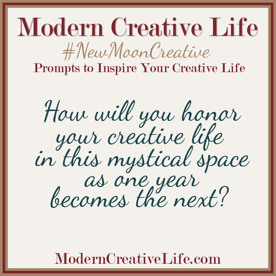 New Moon Creative Prompts – Modern Creative Life